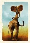 Les Chimères - carte postale